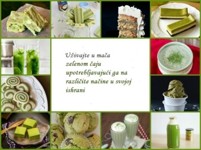 """Nekako s proleća – zeleno, volim te, zeleno...  13 razloga zašto morate da uvrstite """"mača"""" zeleni čaj u svoju svakodnevicu"""