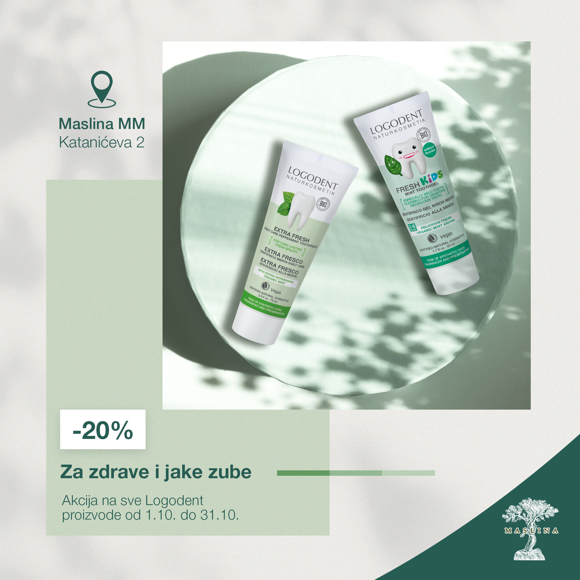 LOGODENT PASTE ZA ZUBE -20% POPUSTA