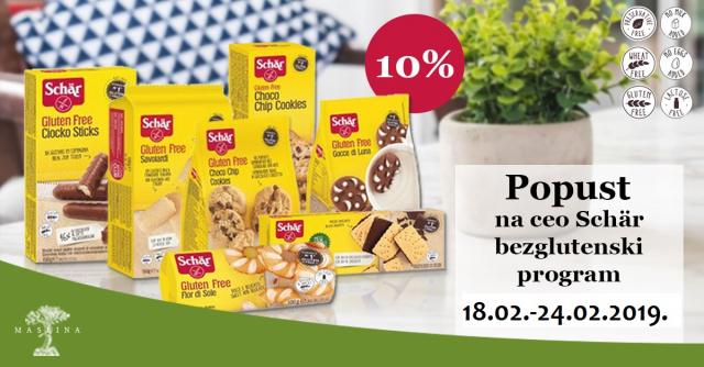 PROMOCIJA SCHAR PROIZVODA - POPUST 10%