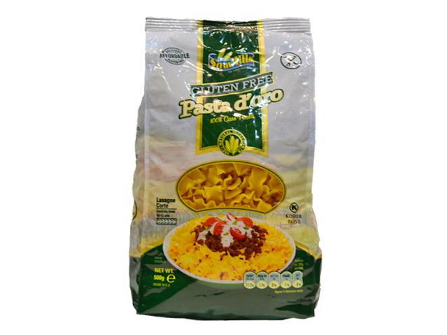 Testenina od kukuruza lasagne bez glutena Sam Mills 500g