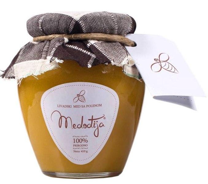 Med sa polenom Medođija 410g