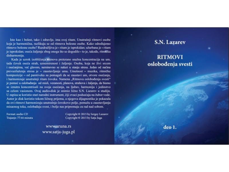 CD Ritmovi oslobođenja svesti 1. deo S.N. Lazarev