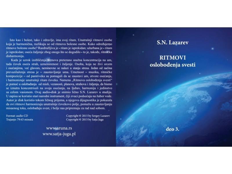 CD Ritmovi oslobođenja svesti 3. deo S.N. Lazarev