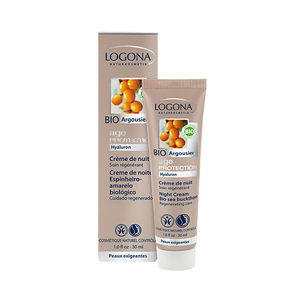 Logona Age Protection Noćna krema 30ml