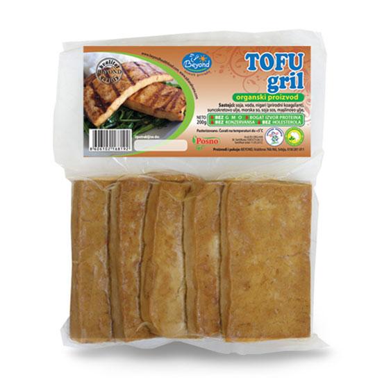 Tofu gril organski 200g