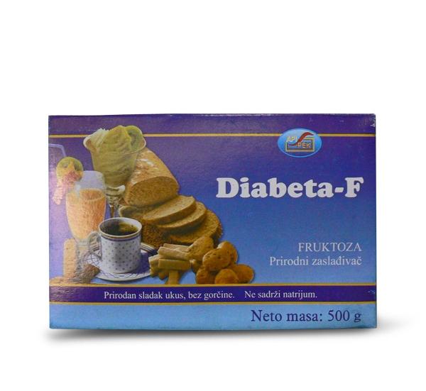 Diabeta-F fruktoza 500g
