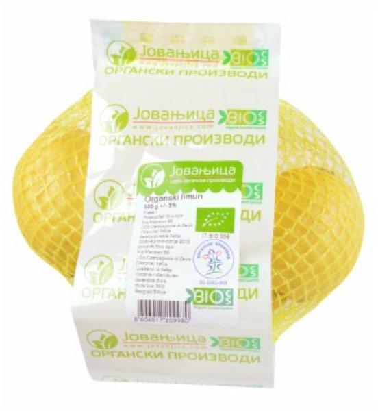 Limun organic Jovanjica 500g
