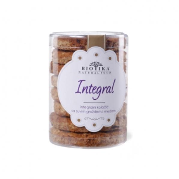 Integral integralni kolačići 250g Biotika