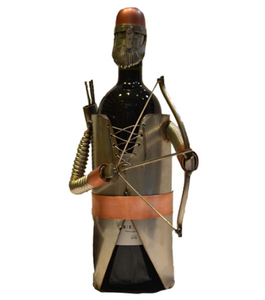 Nosač za flaše - ratnik sa strelom