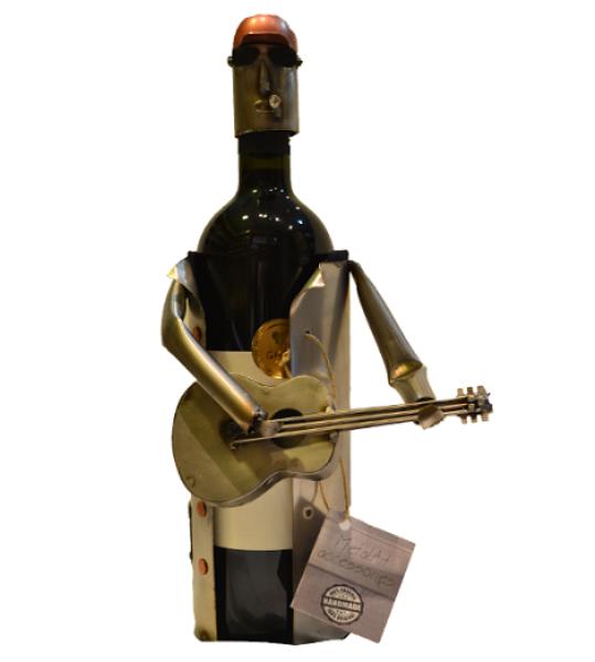 Nosač za flaše - muzičar