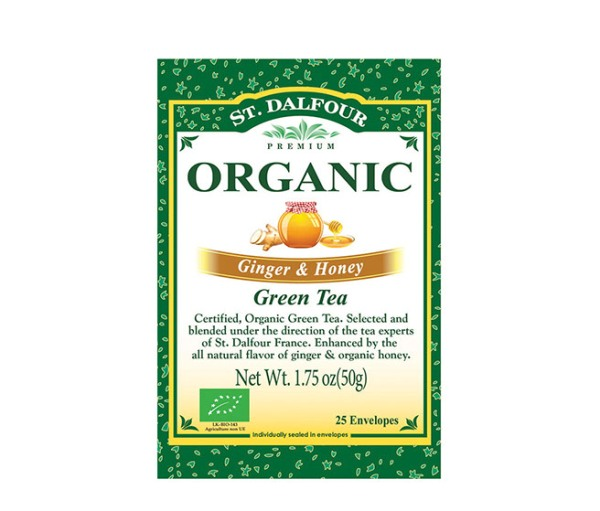 Zeleni Čaj sa Đumbirom i Medom St.Dalfour organic 50g
