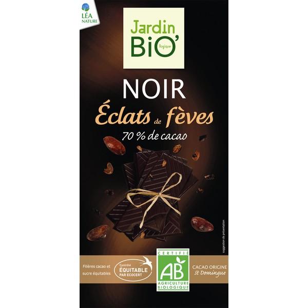 Organska crna čokolada 70% JardinBio 100g