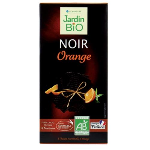 Organska crna čokolada sa pomorandžom JardinBio 100g