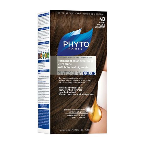 Phytocolor 4D –svetlo zlatno lešnik