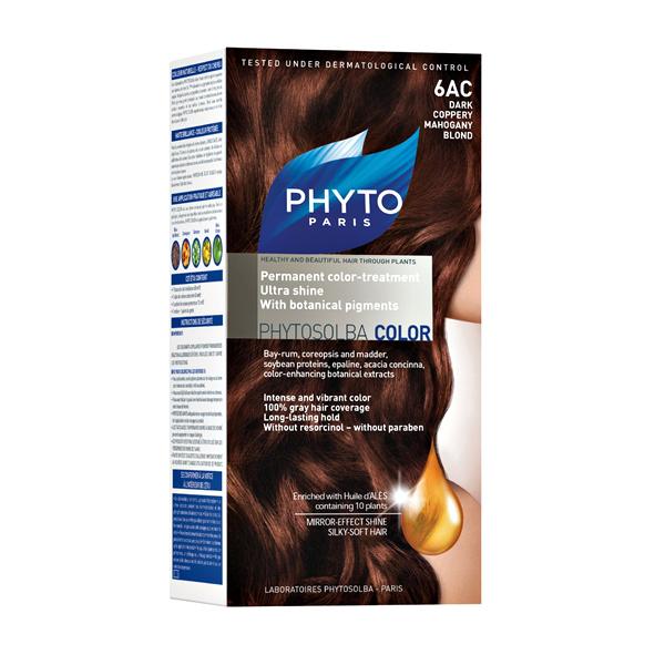 Phytocolor 6AC – tamno bakarna mahagoni plava