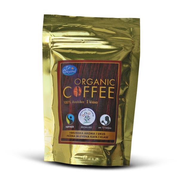 Organska kafa mlevena arabika I klasa Beyond 100g