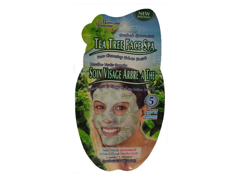 7th Heaven Čajno drvo-menta maska za lice  1 kom
