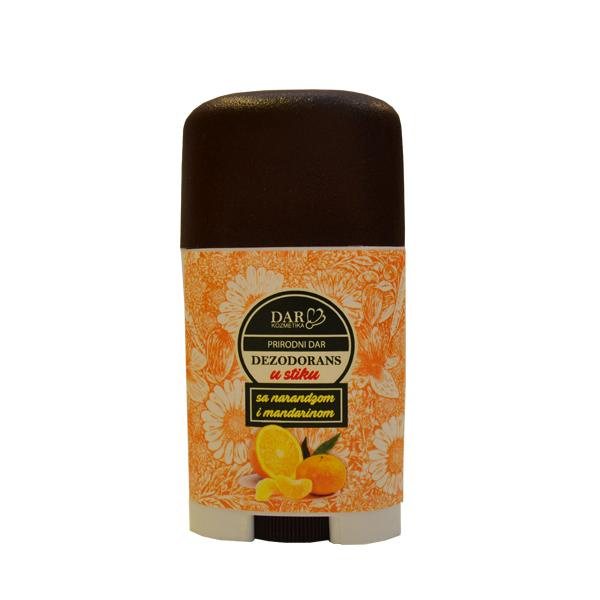 Dar kozmetika dezodorans u stiku  sa mandarinom i pomorandžom 30ml