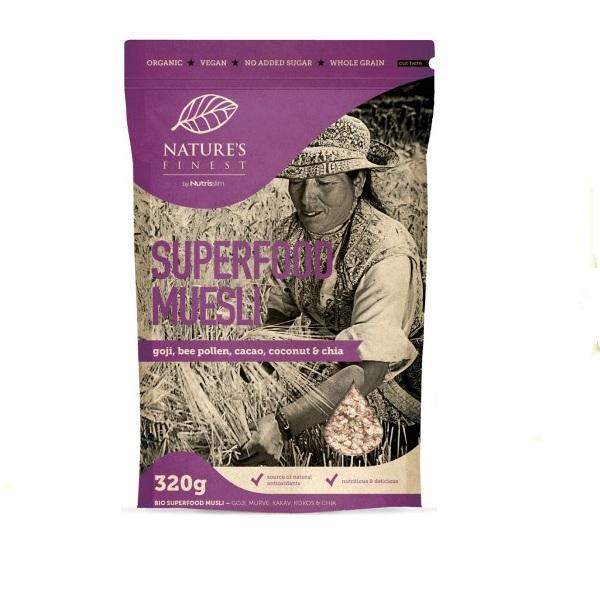 Nutrisslim  Musli  Bio Superfood 320g