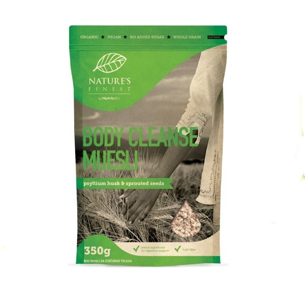 Nutrisslim  Musli  Bio Body Cleanse 350g