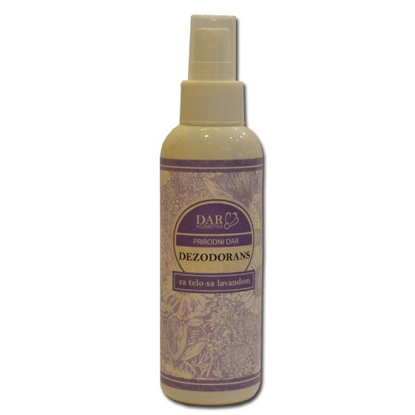 Dezodorans za telo sa lavandom 150ml Dar kozmetika