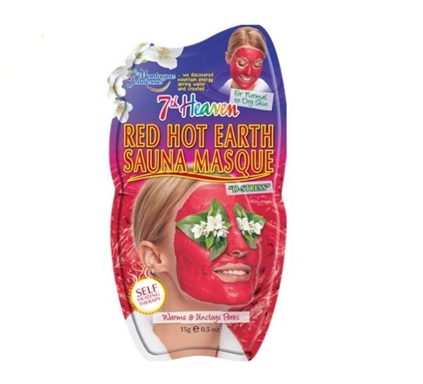 7th Heaven Maska za lice-topla crvena glina 15g