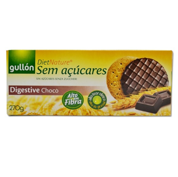 Gullon Digestiv Choco  keks bez šećera 270g