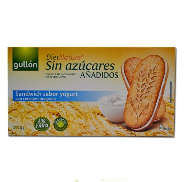 Gullon  Sendvič keks za dijabetičare sa jogurtom 220g