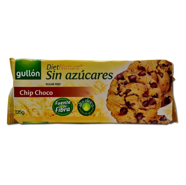 Gullon  Chip Choco keks za dijabetičare sa komadićima čokolade 125g
