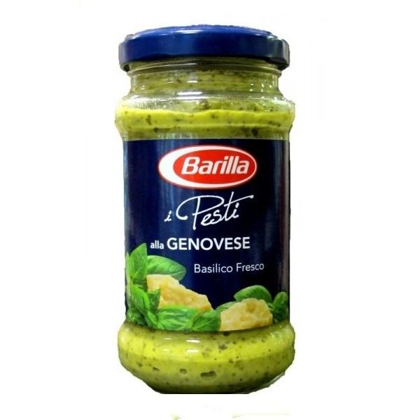 Pesto alla Genovese-salatni preliv od bosiljka Barilla 190g