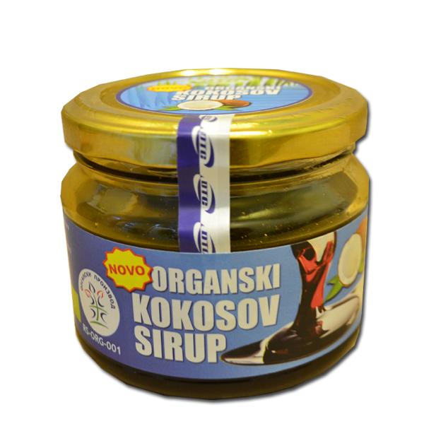 Organski Kokosov sirup DTC 250ml
