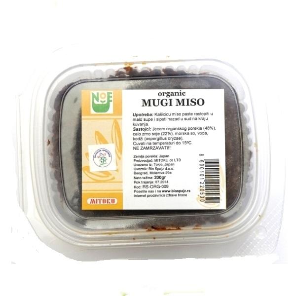 Mugi miso  Mitoku 200g