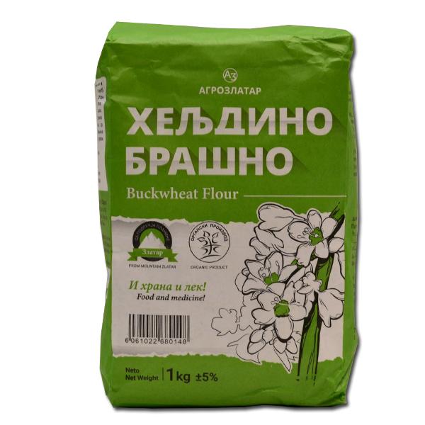 Organsko heljdino brašno Agro Zlatar1kg