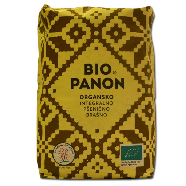 Organsko integralno pšenično brašno Bio panon 1kg