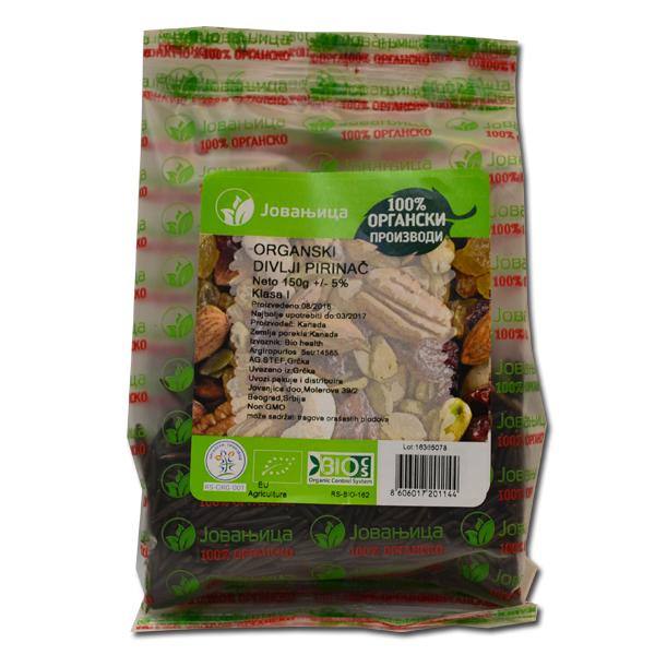 Divlji pirinač organic Jovanjica 150g