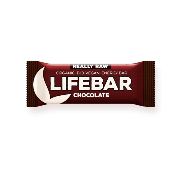Lifebar desert Čokolada organic LifeFood 47g