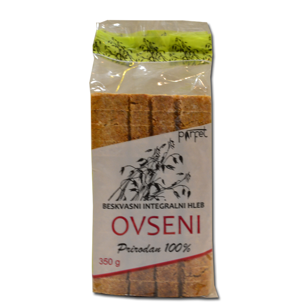 Ovseni hleb bez kvasca 350g