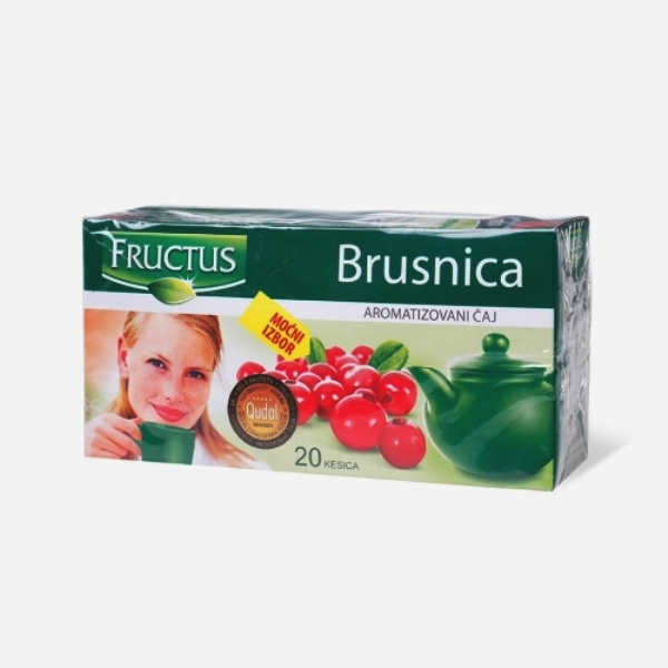 Fructus filter čaj brusnica 40g