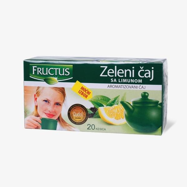 Fructus Zeleni čaj sa Limunom 30g