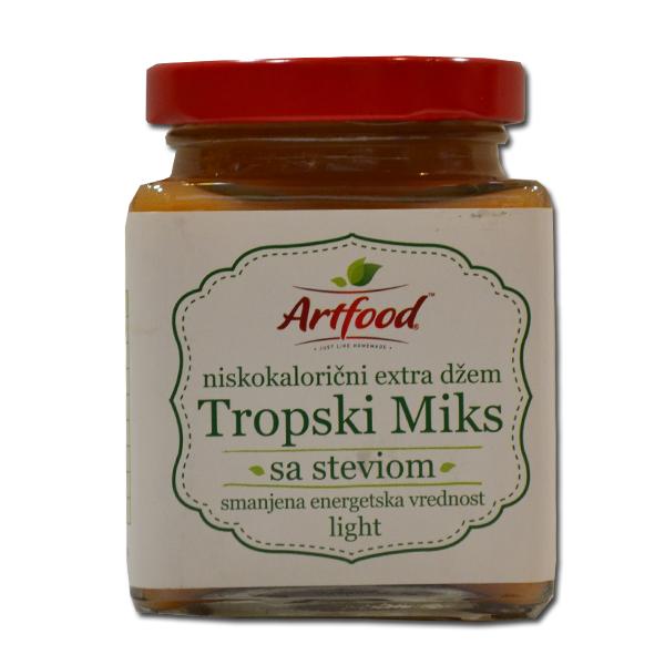 Niskokalorični džem tropski miks Artfood 220g