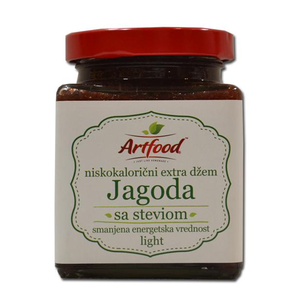 Niskokalorični džem od jagode sa steviom Artfood 220g