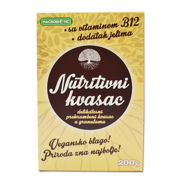Nutritivni kvasac Macrobiotic 200g