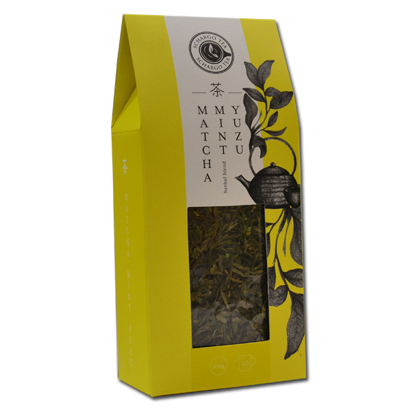 Matcha mint yuzu čaj Schargo 100g