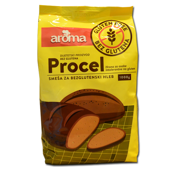 Procel smeša za bezglutenski hleb 1 kg