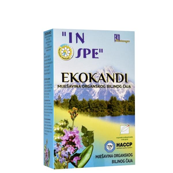 Ekokandi organski čaj  100g