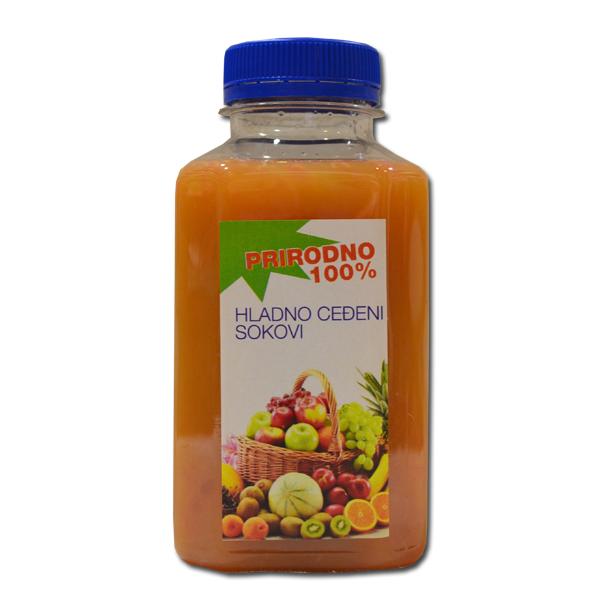Ceđeno voće Miks 4 Tiri 0,33ml