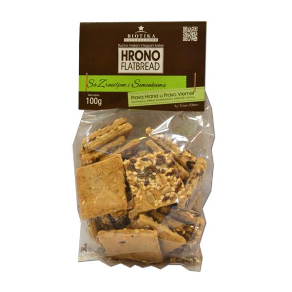 Hrono slani kreker sa zrnevljem Biotika 100g