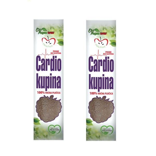 Voćna štanglica Cardio kupina Mela Fruit 10g