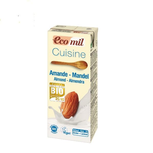 Organski krem za kuvanje sa bademom Ecomil 200ml