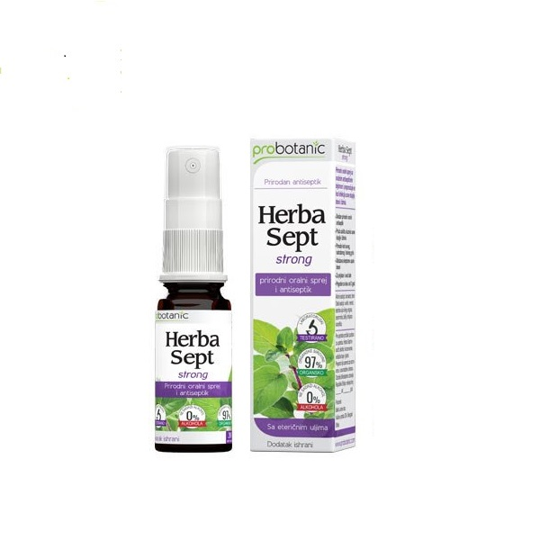 Herba sept strong antiseptik sprej Probotanic 30ml